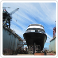 Finest dry docking of ships, superyachts and boats in Asia.