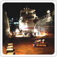Always follow dry docking checklist and attention to detail in dry docking operation with lower costs.