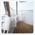 High Standard teak decking for boats in Asia